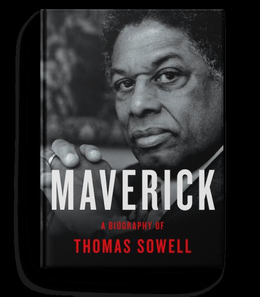 Thomas Sowell - Maverick Book Cover